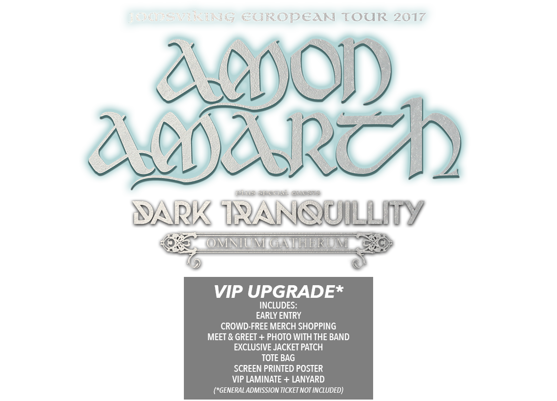 Amon Amarth Jomsviking EU Tour Tickets