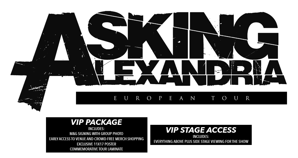 Asking Alexandria EU Tour Tickets