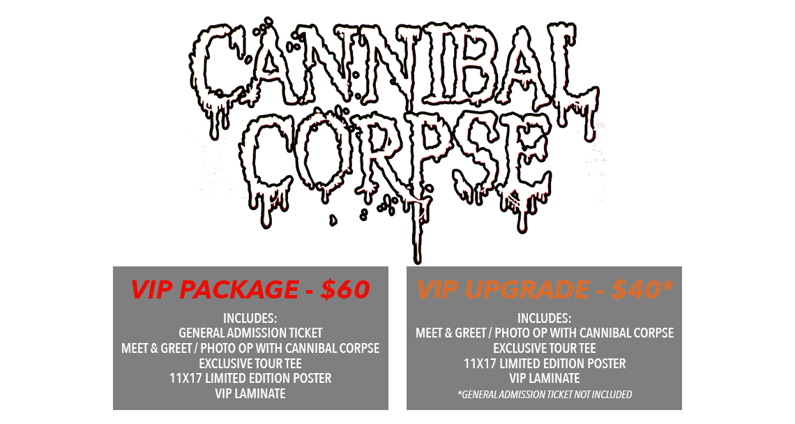 Cannibal Corpse Tickets
