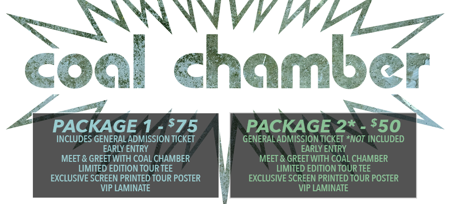 Coal Chamber Tickets