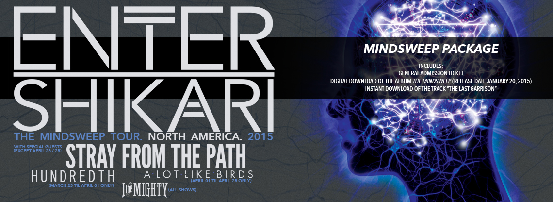 Enter Shikari Mindsweep Tickets