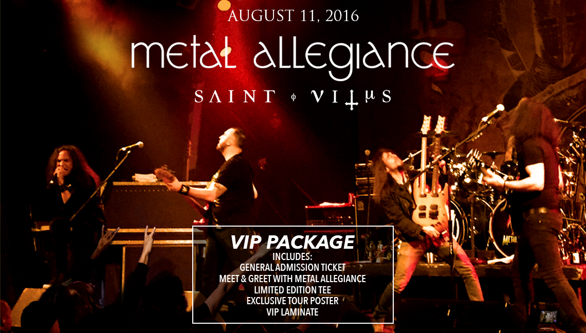 Metal Allegiance Tickets