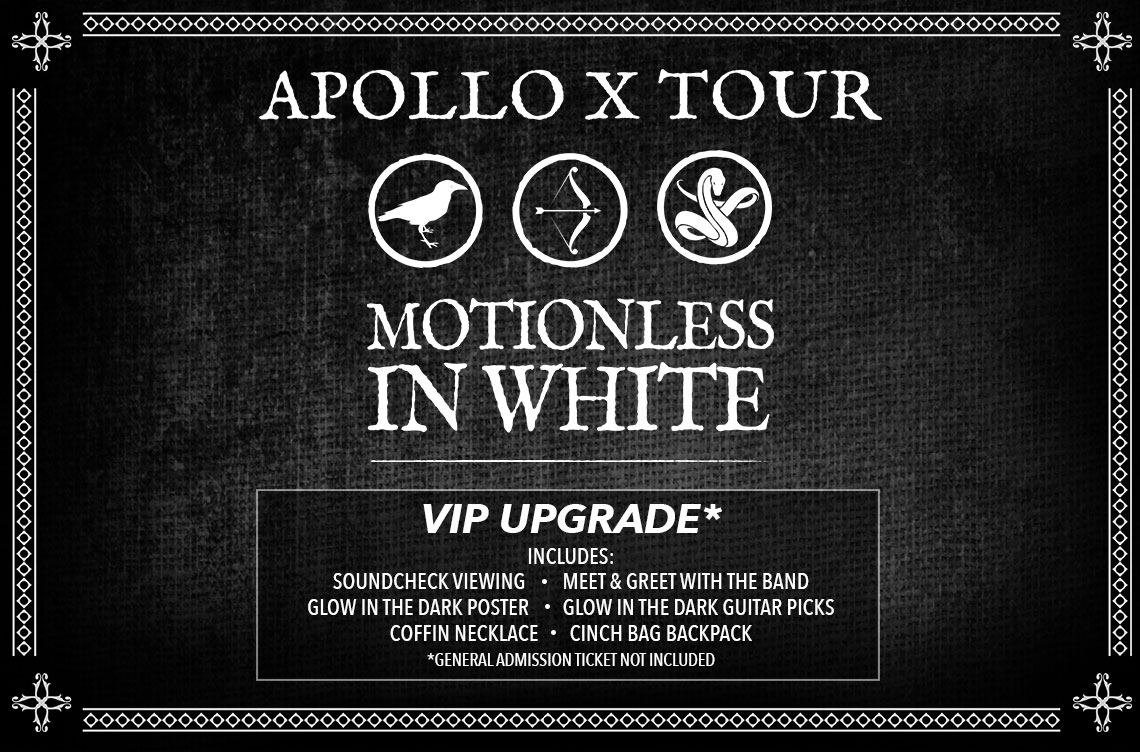 Motionless In White Apollo Tickets