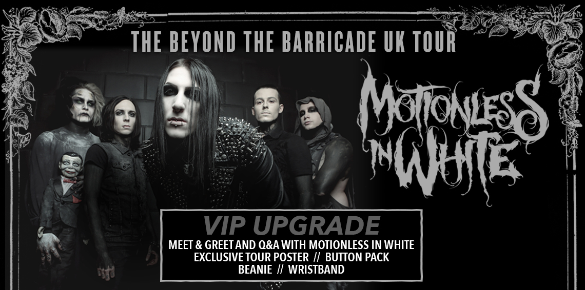 Motionless In White UK Tickets
