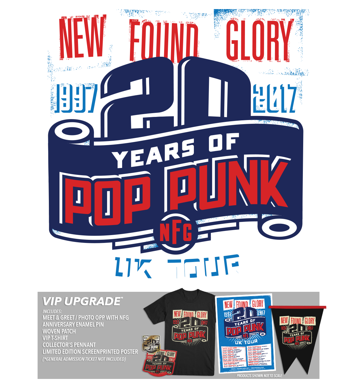 New Found Glory 20 Years of Pop Punk UK Tickets