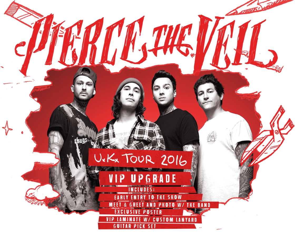 Ticketspin Pierce The Veil Uk Tickets