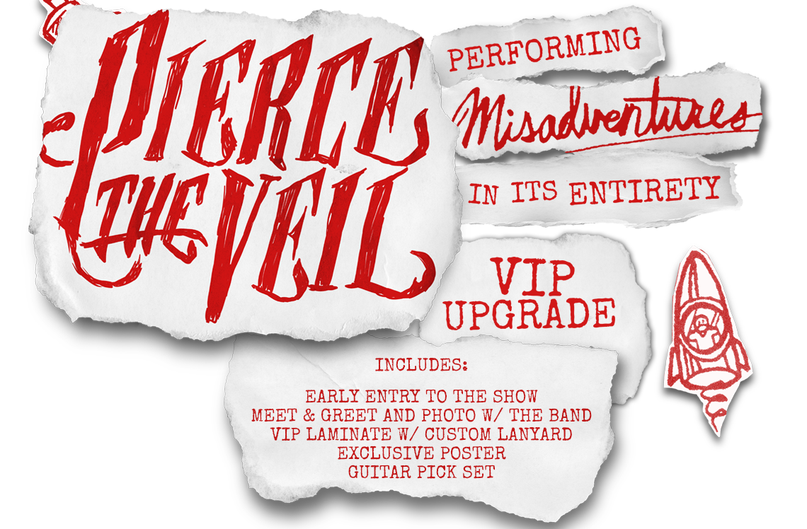 Pierce The Veil Misadventure Tickets