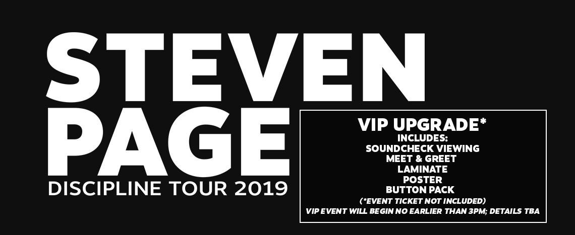 Steven Page 2019 Tickets
