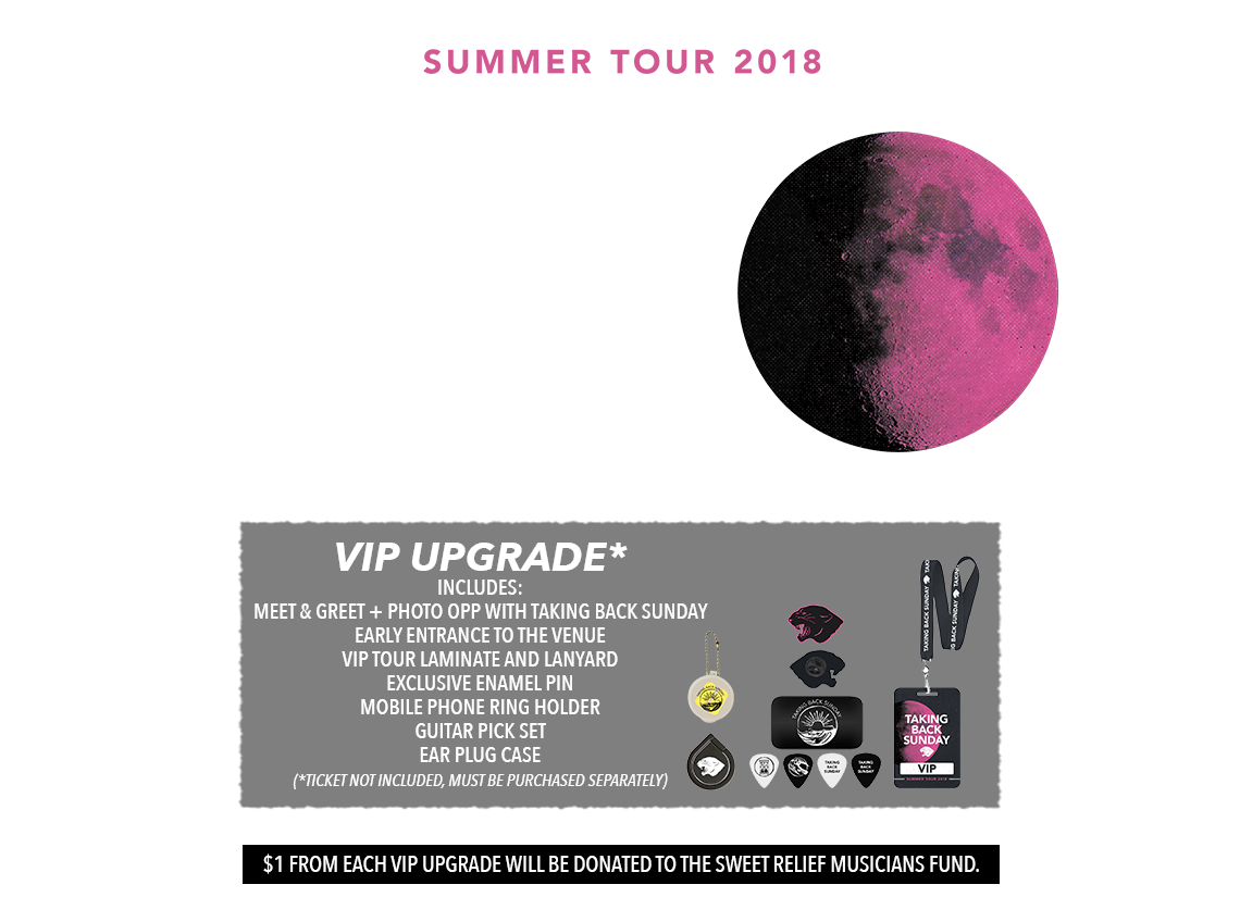 Taking Back Sunday Summer 2018 Tickets
