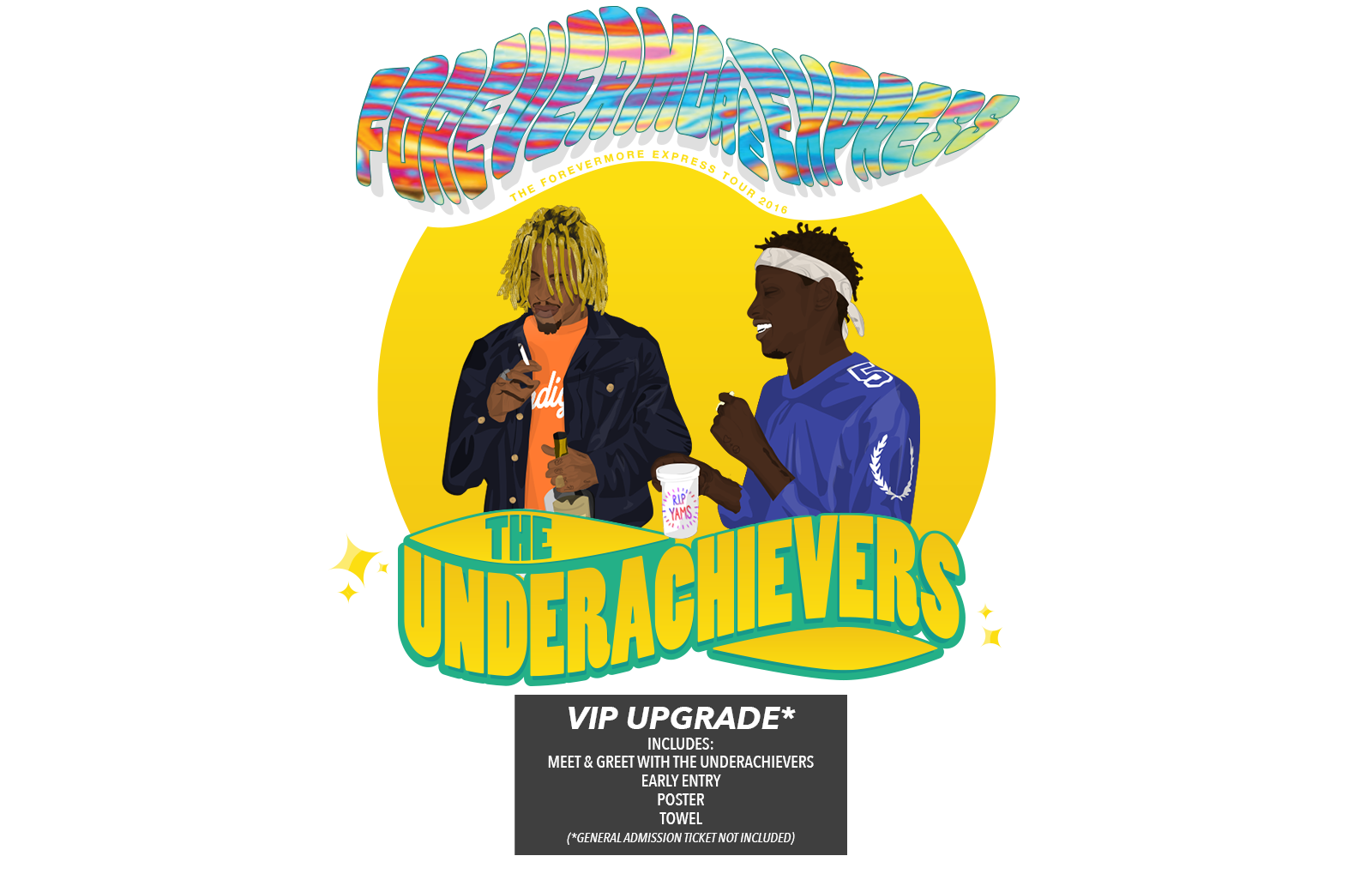 The Underachievers AUS Tickets