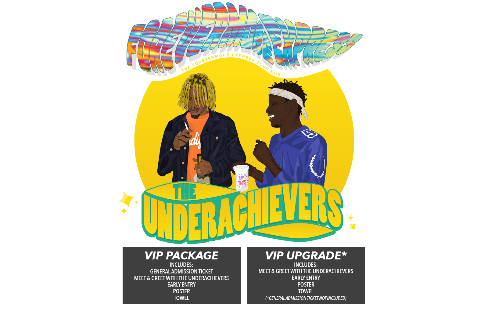 The Underachievers Europe Tickets